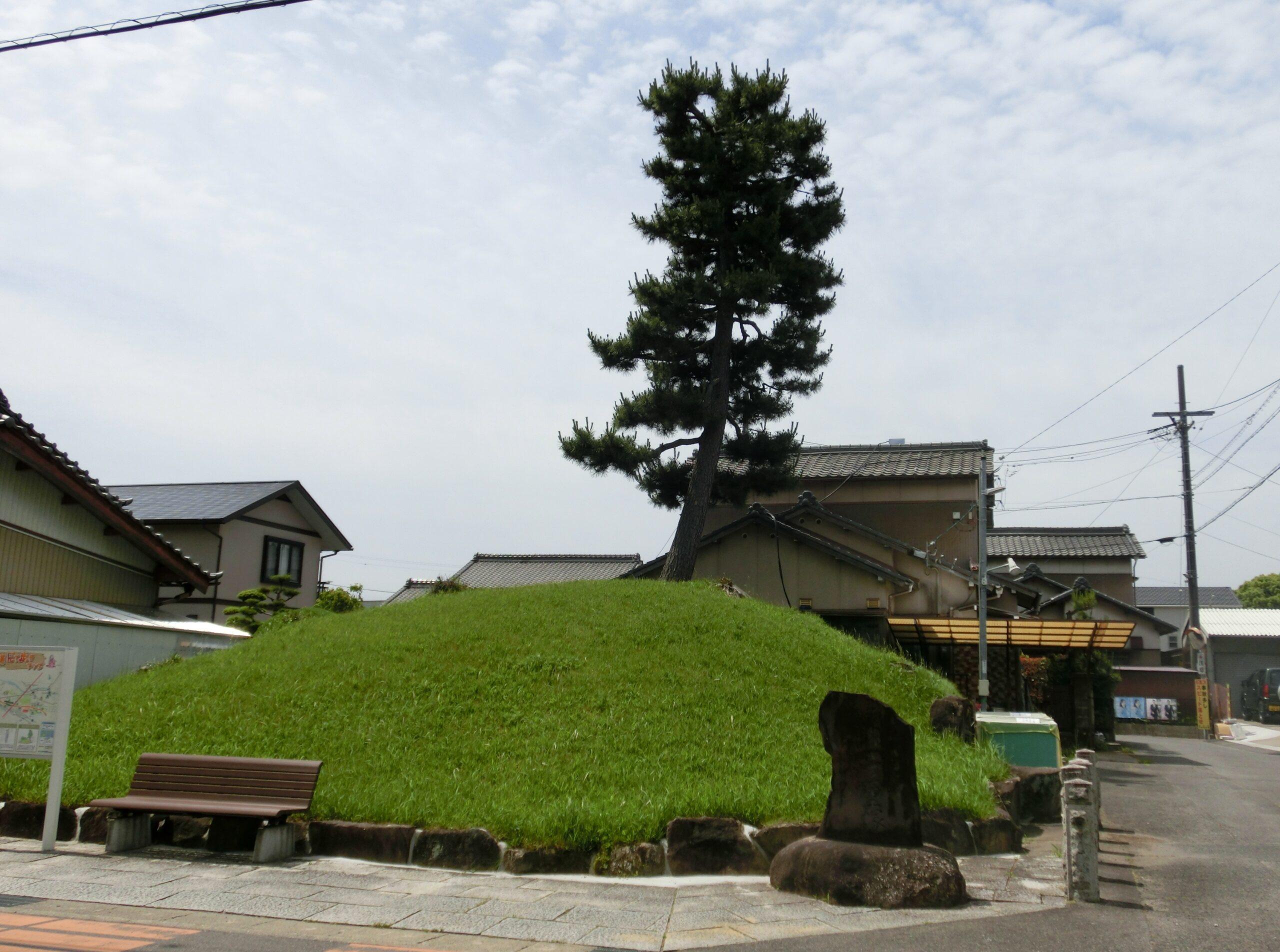 来迎寺一里塚の写真